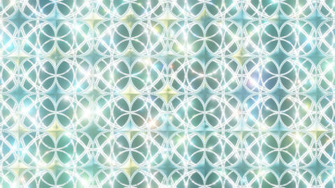 Diamond Pattern Background 1 Style 1_Yellow Green Stock Video Footage