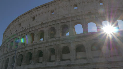 The Coliseum in clear weather Archivo