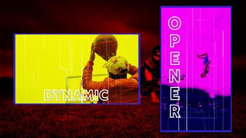 Sport Dynamic Opener Premiere Pro Template