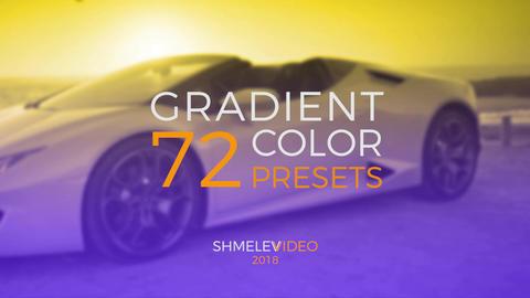 Gradient Color Presets Premiere Pro Template