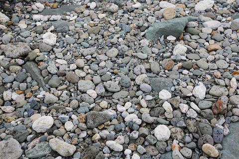 Colorful stones on the beach 004 Fotografía