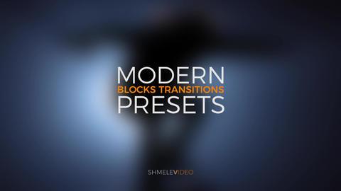 Modern Blocks Transitions Premiere Pro Template