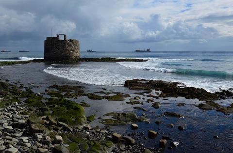 Old defense tower by the sea, Gran Canaria Fotografía