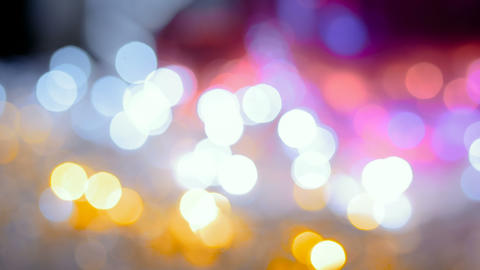 Christmas abstract bokeh Footage