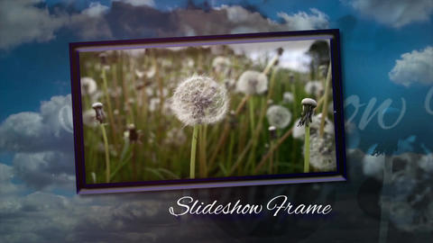Slideshow Frame Premiere Pro Template