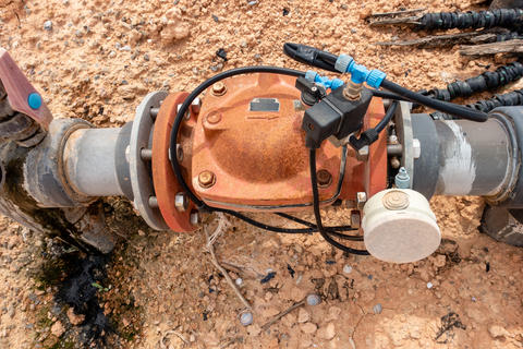 Irrigation Water Pump Photo