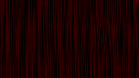 Red Curtain Green Screen Opening, Red Curtain Chroma Key... Stock Video Footage