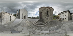The cathedral of Venzone VR 360° Photo