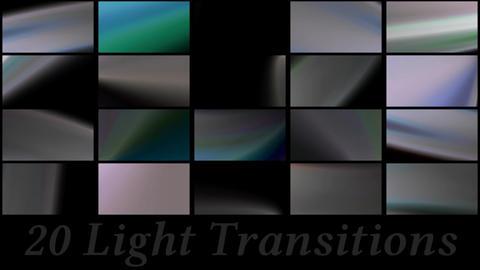 20 Light Transitions Plantilla de After Effects