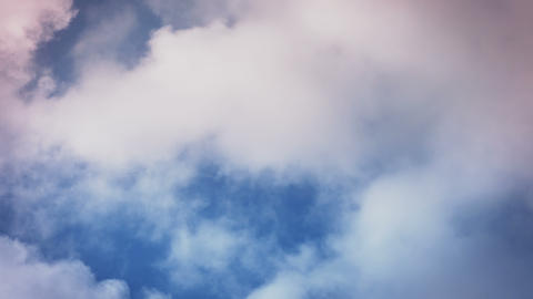 Dramatic Clouds Time Lapse Right to Left GIF