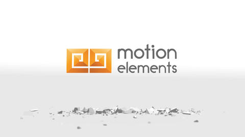 Logo Shatter Break After Effects Template