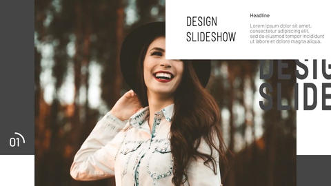 Design Slideshow After Effects Template