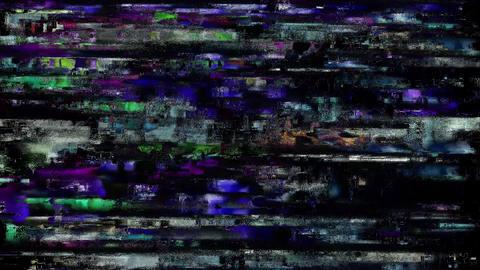 Glitch - Screen Led Error Database Animation