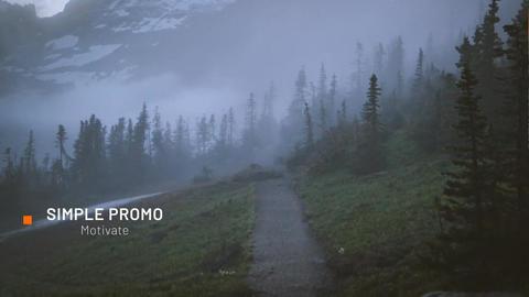 Simple Promo Premiere Pro Template