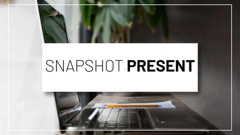 Snapshot Presentation Premiere Proテンプレート
