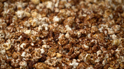 popcorn rotate motion background Footage