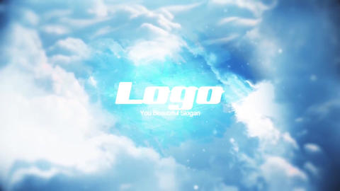 Sky Logo Reveal Premiere Pro Template