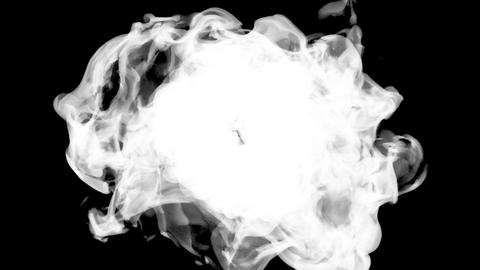 Fire explosion to the camera with Alpha Channel Stock Video Footage