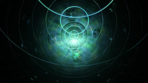 [alt video] Abstract Geometric Background. Sci-Fi, Futuristic And...