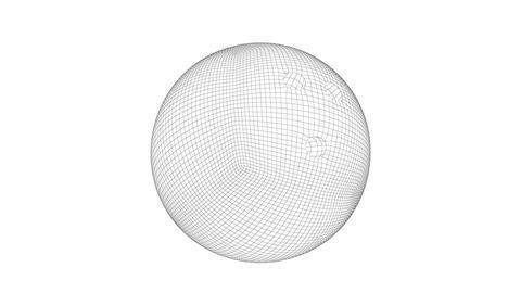 3D model of bowling ball GIF