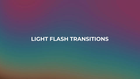 Panoramic And Light Flash Transitions After Effects Template