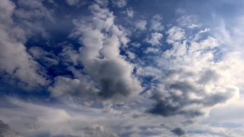 雲 タイムラプス ビデオ
