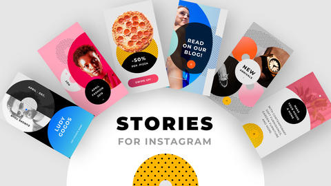 Instagram Stories no 1 Motion Graphics Template