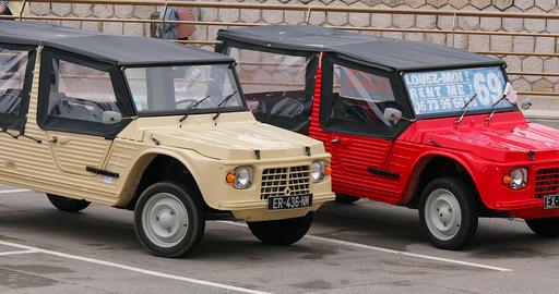 Two Citroen Mehari French Vintage Cars Archivo