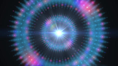 Pulsar 001: A graphic Pulsar star radiating light and pulsating energy Animation