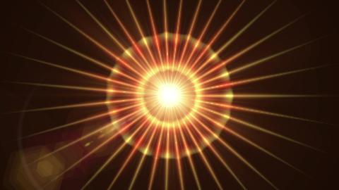 Pulsar 005: A graphic Pulsar star radiating light and pulsating energy Animation