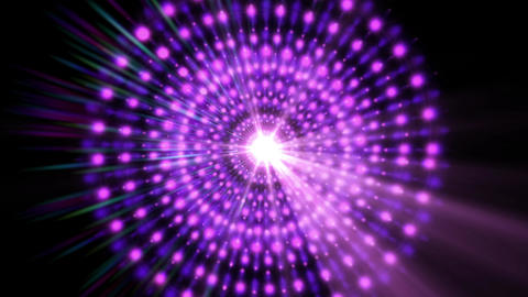 Pulsar 006: A graphic Pulsar star radiating light and pulsating energy Animation