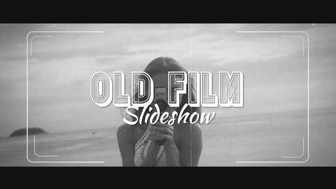 Old Film Slideshow After Effects Template