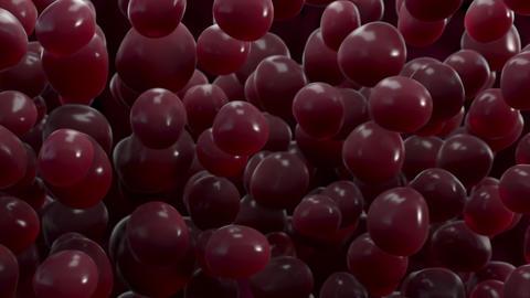 [alt video] Blood Drops Floating Background Loop