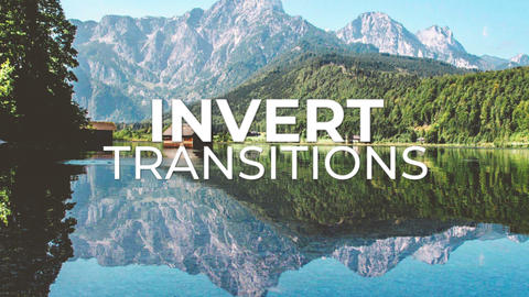 Invert Transitions Premiere Pro Template