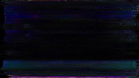 Premier Old TV Glitch Color Disturbances On A Black Background Live Action