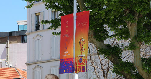 Banner Advertising The 72nd Cannes Film Festival 2019 Live Action