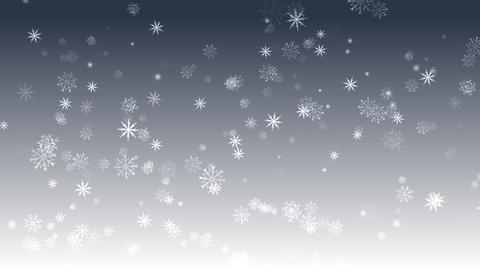 Snow Background Material CG Falling Gradation CG動画