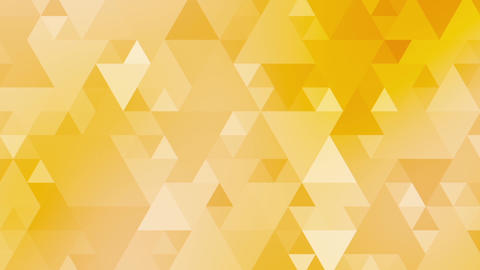 Yellow Triangles Animation