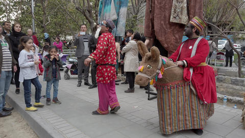 Tehran, Iran - 2019-04-03 - Street Fair Entertainment 5 - Children Skit 2 Live Action