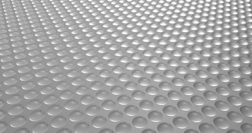 Half spheres motion loop white background GIF