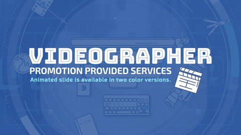 Videographer Promo After Effects Template