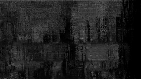 Glitch TV Static Noise Distorted Signal Problems Master Animation