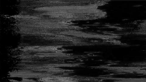 Credo Signal Niose Grain Damaged Glitch Video Background Animation