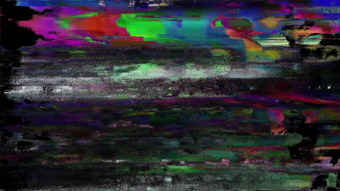 Engineering Glitch TV Static Noise Signal Problems Animation