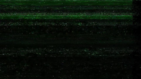 Glitch TV Static Noise Signal Problems Party Animation