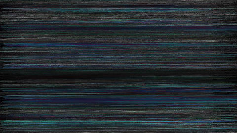 Ocean Noise On TV Screen. Analog TV Signal With Bad Interferenc Animation