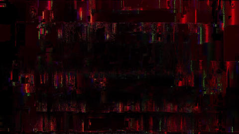 Scribe Digital Animation. Pixel Noise Glitch Error Video Damage Animation