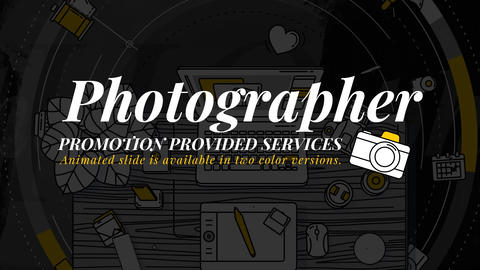 Photographer Promo After Effects Template