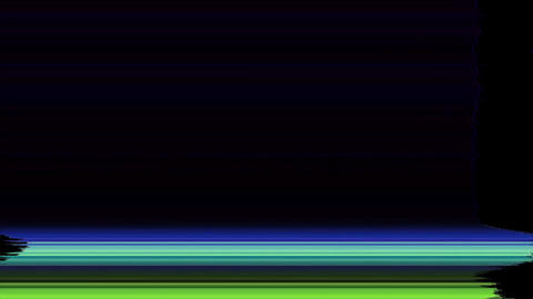 Video Signal Damage With Pixel Noise And Error Interference Rating Animation