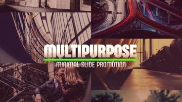 Multipurpose Slideshow After Effects Template